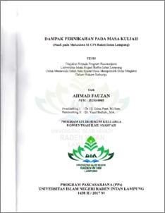 Makalah Uin Raden Intan Lampung Contoh Makalah