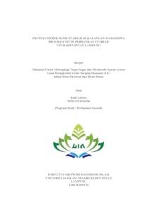 Ekuitas Merek Bank Syariah Di Kalangan Mahasiswa Program Studi Perbankan Syariah Uin Raden Intan Lampung Raden Intan Repository
